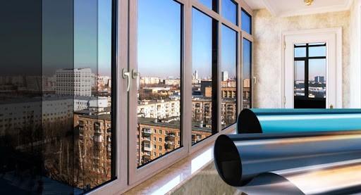 Применение солнцезащитной и тонировочной пленки на окнах