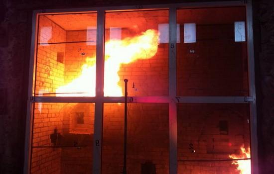 Противопожарные окна из ПВХ