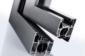 Алюминиевые окна крестовое соединение