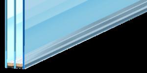 Двухкамерный стеклопакет с мультистеклом